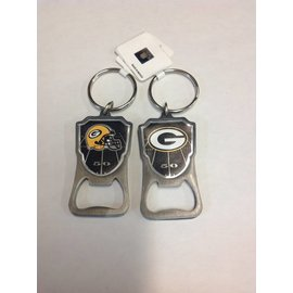 Green Bay Packers Bottle Opener Keychain