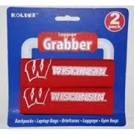 Wisconsin Badgers 2 Pack Luggage Grabber
