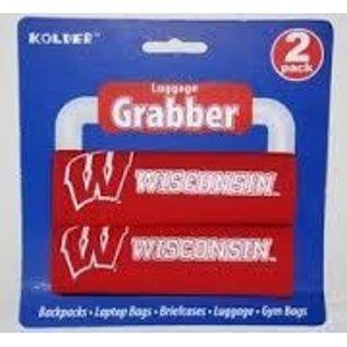 Kolder Wisconsin Badgers 2 Pack Luggage Grabber