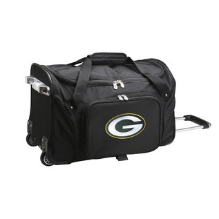 Green Bay Packers Wheeled Carry-on Duffel