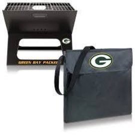 Green Bay Packers X-Grill Portable BBQ Grill & Tote
