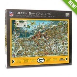 Green Bay Packers Joe Journeyman 500 Pc Puzzle