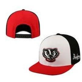 Wisconsin Badgers Venture Flatbill Snapback Hat
