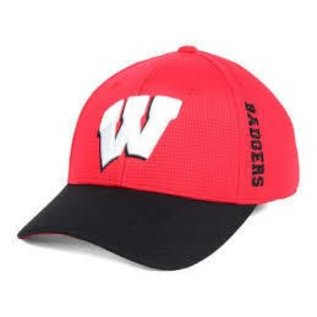 Wisconsin Badgers Booster Plus One Fit Hat
