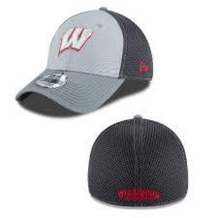 New Era Wisconsin Badgers 39-30 Grayed Out Neo 2 Hat