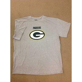 Green Bay Packers Men's Heather Gray Short Sleeve Tee