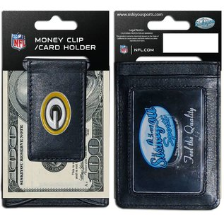 Green Bay Packers Leather Cash and Cardholder