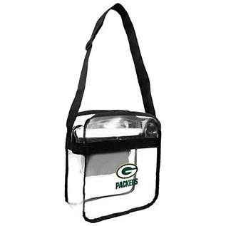 Little Earth Green Bay Packers Clear Cross Body Carry All