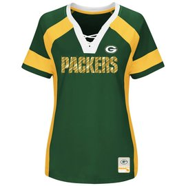 Majestic Green Bay Packers Women's Draft Me Short Sleeve Tee