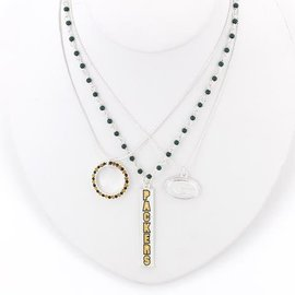 Green Bay Packers Trio Necklace