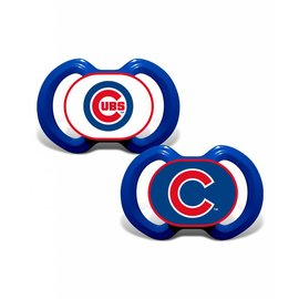 Baby Fanatics Chicago Cubs 2 Pack Pacifiers