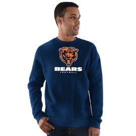 Majestic Chicago Bears  Men's Critical Victory III Sweatshirt