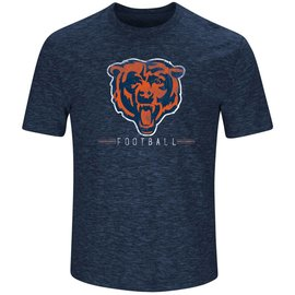 Majestic Chicago Bears Men's Hyper Stack Short Sleeve Tee