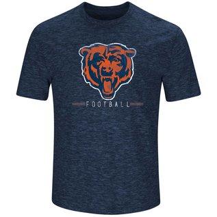 Majestic Chicago Bears Men's Hyper Stack Short Sleeve Tee