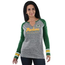 Majestic Green Bay Packers Women's Lead Play Long Sleeve Tee