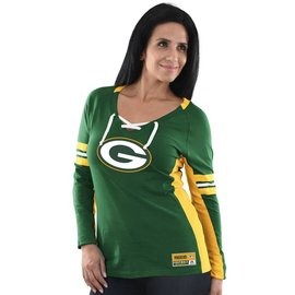 Majestic Green Bay Packers Women's Winning Style Long Sleeve Tee