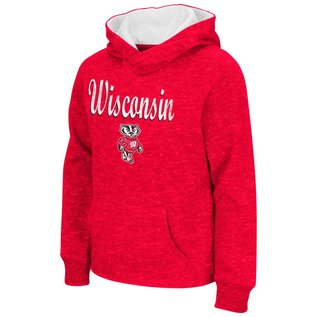 Colosseum Wisconsin Badgers Girls Judo Hoodie