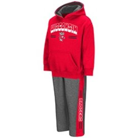 Wisconsin Badgers Toddler Punter 2 PC Fleece Set