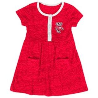 Colosseum Wisconsin Badgers Infant Triple Jump Dress
