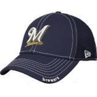 New Era Milwaukee Brewers 39-30 Navy Neo Hat