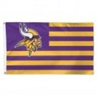 WinCraft, Inc. Minnesota Vikings Americana 3x5 Flag