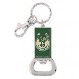 WinCraft, Inc. Milwaukee Bucks Bottle Opener Key Ring