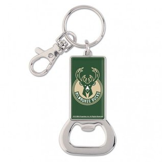WinCraft, Inc. Milwaukee Bucks Bottle Opener Keychain