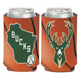 WinCraft, Inc. Milwaukee Bucks Can Cooler