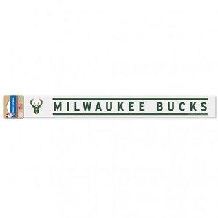 WinCraft, Inc. Milwaukee Bucks 2x17 Perfect Cut Decal