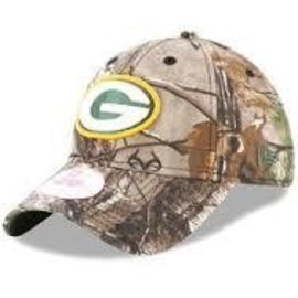 Green Bay Packers Child Realtree 9-20 Adjustable Hat