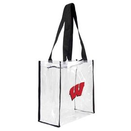 Little Earth Wisconsin Badgers Clear Stadium Tote