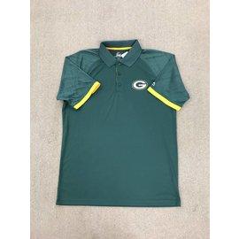 Green Bay Packers Men's Power Run Polo Shirt