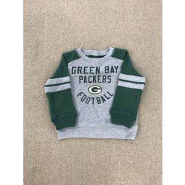 Green Bay Packers Toddler Retro French Terry Crew Sweatshirt
