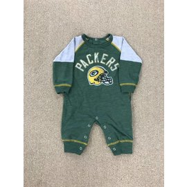 Green Bay Packers Newborn Heritage Coverall
