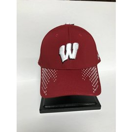 Wisconsin Badgers Under Armour Renegade Accent Adjustable Hat