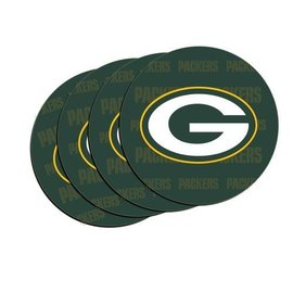 Green Bay Packers Set of 4 Car Coasters