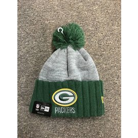 Green Bay Packers Flected Frost Knit Hat
