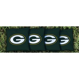 Green Bay Packers Cornhole Bags-Set of 8