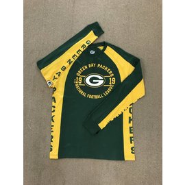 G III Green Bay Packers Men's Switch Hitter Hands High Long Sleeve Tee