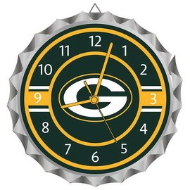 WinCraft, Inc. Green Bay Packers Bottle Cap Clock