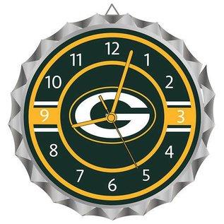 WinCraft, Inc. Green Bay Packers Bottle Cap Clock