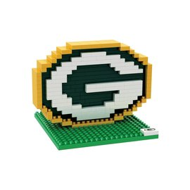 Forever Collectibles Green Bay Packers Logo BRXLZ