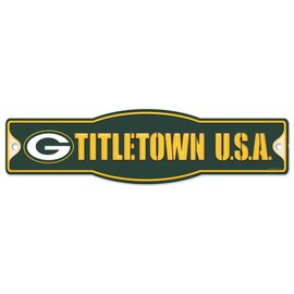 Green Bay Packers Street/Zone Sign - Titletown USA