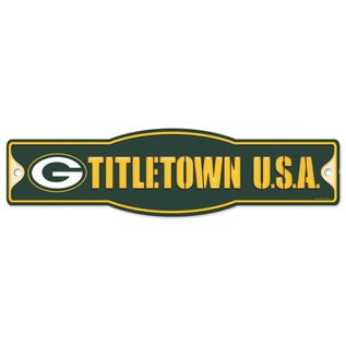 WinCraft, Inc. Green Bay Packers Street/Zone Sign - Titletown USA