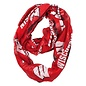 Forever Collectibles Wisconsin Badgers Team Logo Infinity Scarf