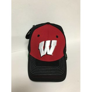 Zephyr Wisconsin Badgers Stitch Hat