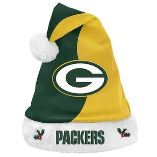 Forever Collectibles Green Bay Packers  Santa Hat