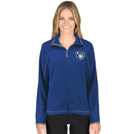 Antigua Milwaukee Brewers Women's Ice Jacket