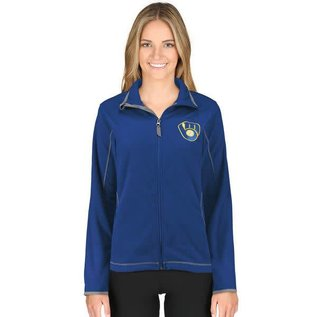 Antigua Milwaukee Brewers Women's Ice Jacket