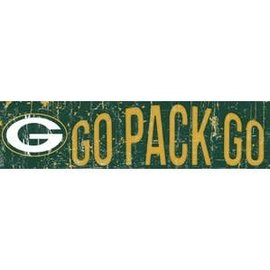 Fan Creations Green Bay Packers Slogan Sign 6x24